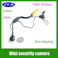600 TVL JYA4002  3.6 lens Mini pinhole CMOS Hidden security bullet Camera