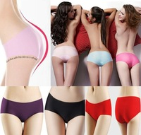 Wholesale 8pcs High Quality Underwear Underwear Women Seamless Panties Sexy No Trace Lingerie Briefs Free Shipping [HDU0002*8]