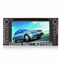 "6.2""Auto Car GPS DVD Navi Navigation for Toyota Corolla EX Camry RAV4 Highlander  BY FREE SHIPPING"
