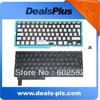 New LAPTOP KEYBOARD FITS Macbook Pro Unibody A1286 French keyboard w/ Backlight 2009-2012