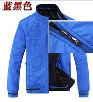 free shipping double jacket men 2014 new men's winter fashion sports wear coats and jackets double collar men's coat, full size