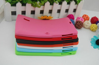 "5pcs/lot All Color Soft Silicone Case for 7"" inch Tablet PC protective case"