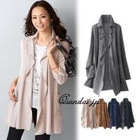 sale 2013 autumn elegant all-match irregular cardigan outerwear m-5 l