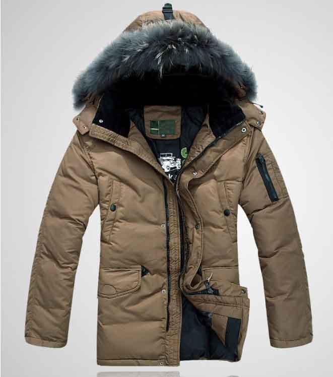 Newest style Men s winter coats long winter coats Men s parka Brand