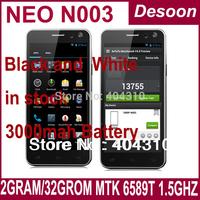 Neo N003 Original Neo phone 5 Inch FHD 1920*1080 MTK6589T Quad Cor 1.5Ghz 13MP 2GB+32GB Andorid 4.2 Multiple languages / Linda
