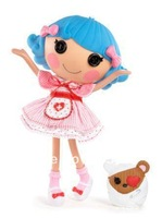 Free Shipping Lalaloopsy Doll Kids Gift Rosy Bumps 'N' Bruises Child Toy Sew Magical ! Button Doll Original Brand