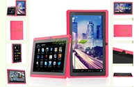 "HOt! - Cheap  7"" Q88 android 4.0 allwinner a13 1GHZ 512M 4GB Red Pink Capacitive Screen tablet pc from China"
