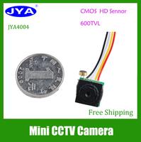 """JYA 4004 1/4"""" 600TVL CMOS 3.7MM pinhole lens CCTV   Security Color Camera"""
