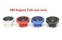 1pcs portable Detachable Fisheye lens maganetic fish eye Lens for iPhone 4 for iPhone 5 iPod Nano 4G iPad samsung 4 colors
