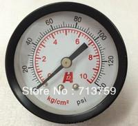 "Free Shipping Y-40Z Manometer Pressure Gauge Meter  1/8""BSPT 40mm Dia 0-10kg/cm2 (0-140PSI)"