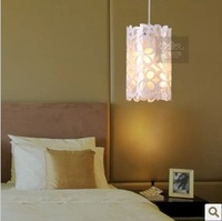 Simple modern Acryl pendant flower light,LED through-carved lamp for home/bedroom/dinning room,1pcs/lot,free shipping!