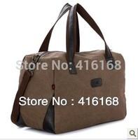 Cotton canvas shoulder bag men and women hand bag large bags large capacity travel bag diagonal package
