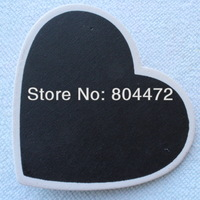 Free Shipping WHITE Frame HEART Wooden blackboard Clothes Peg Clothespin Wood Craft Great for wedding decor | Table Number Name