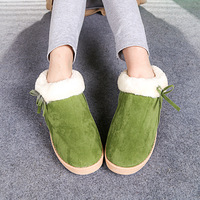 Free Shipping Winter candy color thermal snow boots plush package with scrub platform cotton-padded shoes boots boots