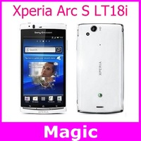 free shipping LT18 Original Sony Ericsson Xperia Arc S LT18i Mobile Phone 3G WIFI A-GPS 4.2 TouchScreen 8MP Camera handsets