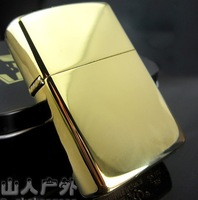 Z**orro lighters titanium plate Jin Bing thickening copper kerosene lighter