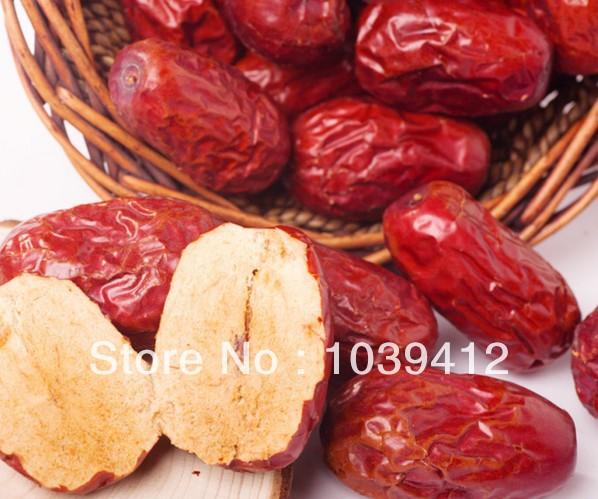 Jujube nutritional vitamin, low sugar beauty gelatin dates, 500g/ bag(China (Mainland))