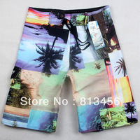 wholesale Fashion Man's Sur Board Shorts High Quality Hot Beach Pants Swimwear for men Swimming Pants Free Shipping