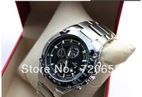 EFE501D Free shipping,2013 fashion watches,full steel watch,quartz watch,luxury  brand watches,  wholesale price, business watch