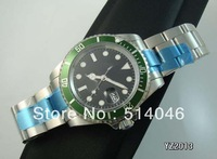 AAA Top Quality Wristwatch Luxury STAINLESS GREEN CERAMIC BEZEL FOR 18K WHITE SUB 116619 Automatic Mens Watch Men's Watches