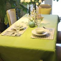 145*220cm Fruit green dining table cloth table cloth fabric tablecloth table cloth modern brief