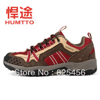 Humtto lovers design ultra-light breathable outdoor shoes walking shoes suede shoes fabric net