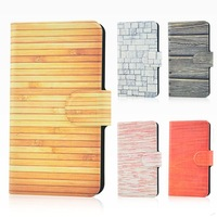 Wholesale,New colorful Street graffiti wall wood design leather PU flip case cover for Millet Mi 2 2S