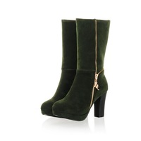 Latest women 2013 sweet fashion platform brief elegant all-match boots kk5965 80