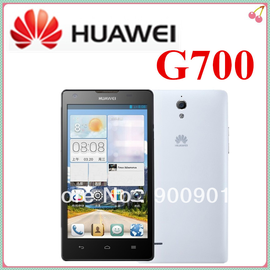 Original HuaWei G700 Ascend 5 inch MTK6589 Quad Core Mobile Phone Android 4.2 2GB RAM 8GB ROM GPS Russian 3G Google PlayStore(Hong Kong)