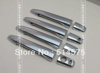 !Mitsubishi Outlander EX 2013 Chrome car door handle cover exterior accessories Free shipping