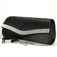 Rhinestone pleated all-match clutch day clutch banquet bag evening bag cosmetic bag women's handbag 117