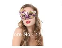 Christmas Halloween Masquerade Princess Venetian Masquerade Pheasant Peacock Feather Masks Half Face Masks Ball Party