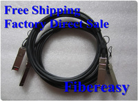 2pieces/lot J9283B  HP X242 10G SFP+ to SFP+ Direct Attach Cable 10GBASE SFP+ Cables Passive Cable 3meters