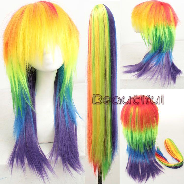 Bright Colored Wigs 95