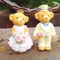 New Sale,Free Shipping, Handmade silicone soap tools soap silica gel soap mini lovers Bear shape Mode,cake tools