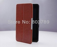 Popular Crazy horse PU Leather Book Cover Flip case for Asus FonePad ME371 ME371MG 7.0,with stand,10pcs/lot