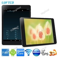 "LUFTCO Vogue A8 7.85"" IPS Screen Android 4.2.2 MTK8389 Quad core 8GB 3G Phablet w/ WiFi Bluetooth GPS CPU 1.2GHz"