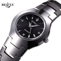 Force bensly tungsten steel watches ladies watch rhinestone table women's watches quartz watch
