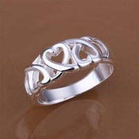 R090 Free Shipping hot sale 925 silver Rings| high quality silver Rings| wholesale fashion Jewelry Silver Plate 100pcs/Lots