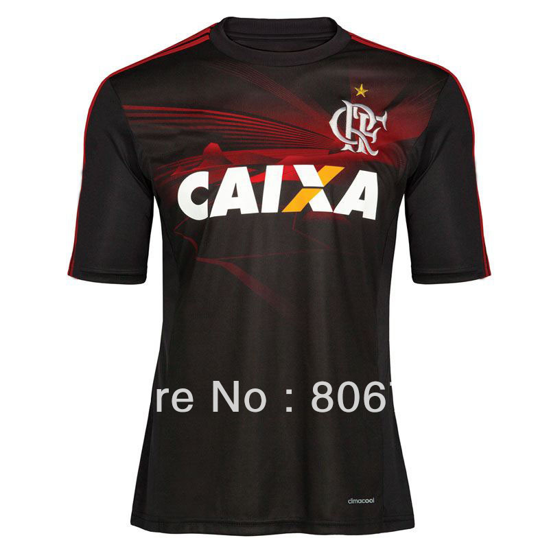 2013 Flamengo jersey ,away third soccer jersey,TOP thailand quality ,Free ship Flamengo jersey(China (Mainland))