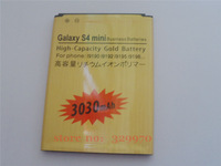 GOLD 3030MAH HIGH CAPACITY  REPLACEMENT BATTERY for SAMSUNG Galaxy S4 mini I9190 I9192  I9195  I9198  brand battery battery