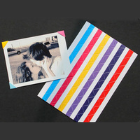 Diy photo album - - 102 paste type photo album corner posts