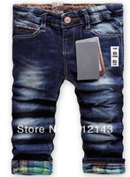 2013 New children 's jeans cotton Denim kids jeans boys and girls pants baby trousers size:2/3t 3/4T 4/5T 5/6T 7/8T 9/10T