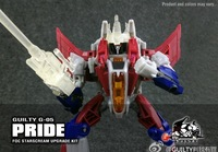 Guilty G-05 Pride - FOC Starscream Upgrade Kit. Preorder.