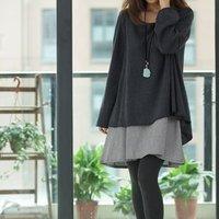2013 maternity clothes for pregnant women irregular clothing autumn pregnancy long-sleeve dress gravidas plus size free shipping