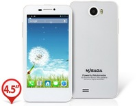 SAGA M1 4.5 Inch MTK6589, Quad Core,1.2GHz 1GB/4GB 1280 X 720px Dual SIM Card Dual Standby Bluetooth Wifi Dual Camera SJ0099-10
