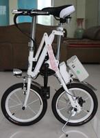 Folding lithium car folding electric bicycle yztd-5-16