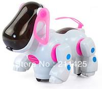 classic  Kids Girls  Boys Toys Children i-ROBOT Robotic Robo Pet Dog Walking Bump n Go Puppy