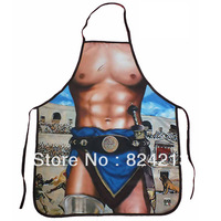 "New COOKING APRON Novelty Funny SEXY men  unisex Santa Christmas gladiator adult DINNER PARTY cosplay  free shipping 22""*28"""