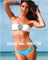 2014 New Sexy Women Swimwear Hot 2 Piece Bikini Swimsuit Beachwear